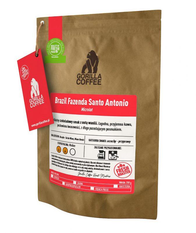 Brazil Fazenda Santo Antonio Gorilla Coffee