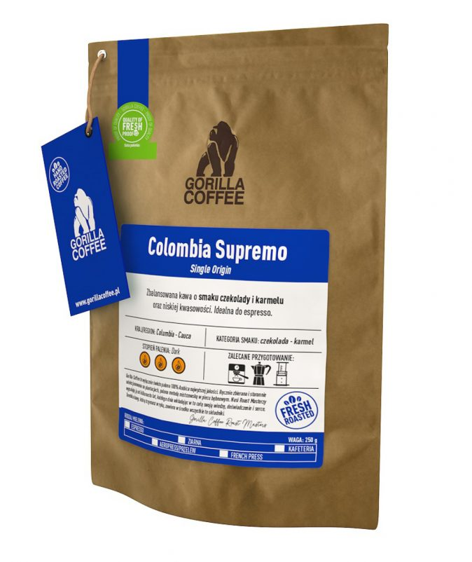 Colombia Supremo Gorilla Coffee