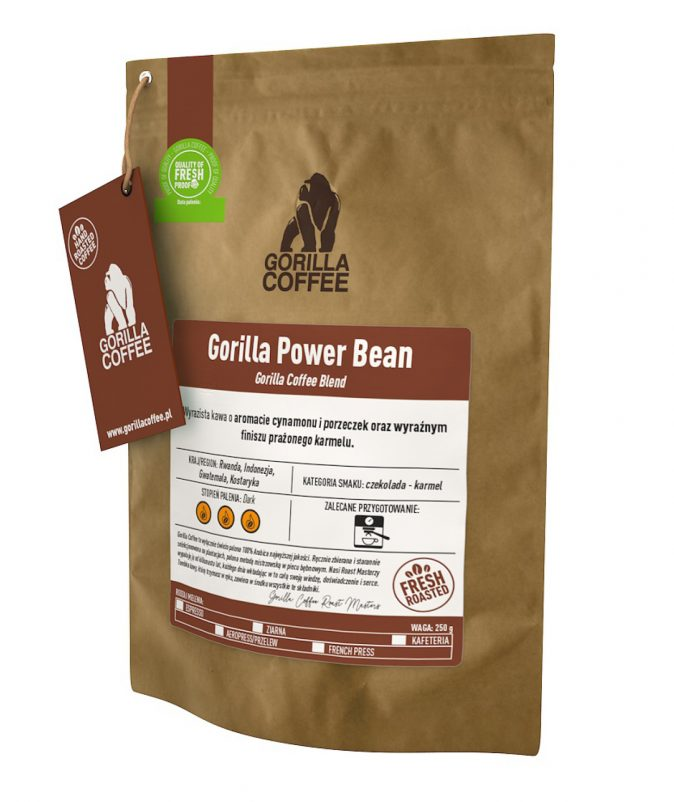 orilla Power Bean - Gorilla Coffee