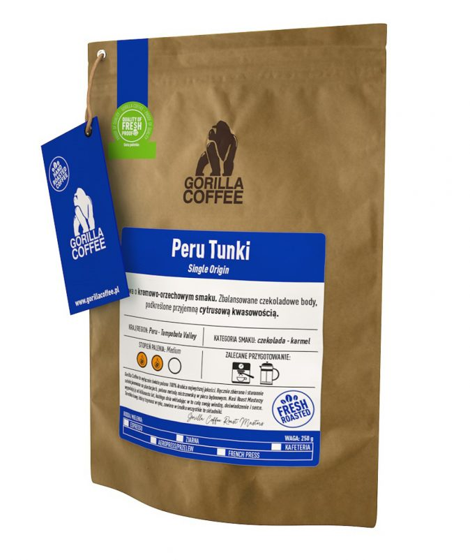 Peru Tunki Gorilla Coffee
