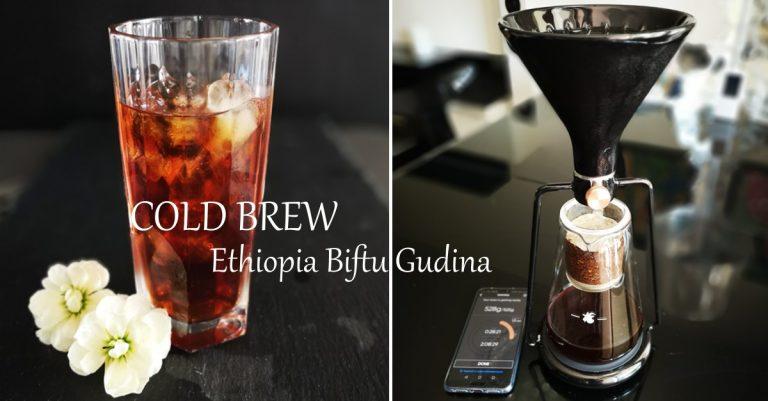 Cold brew zkawyEthiopia Biftu Gudina