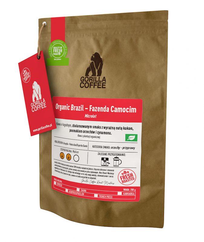 Organic Brazil Fazenda Camocim Gorilla Coffee