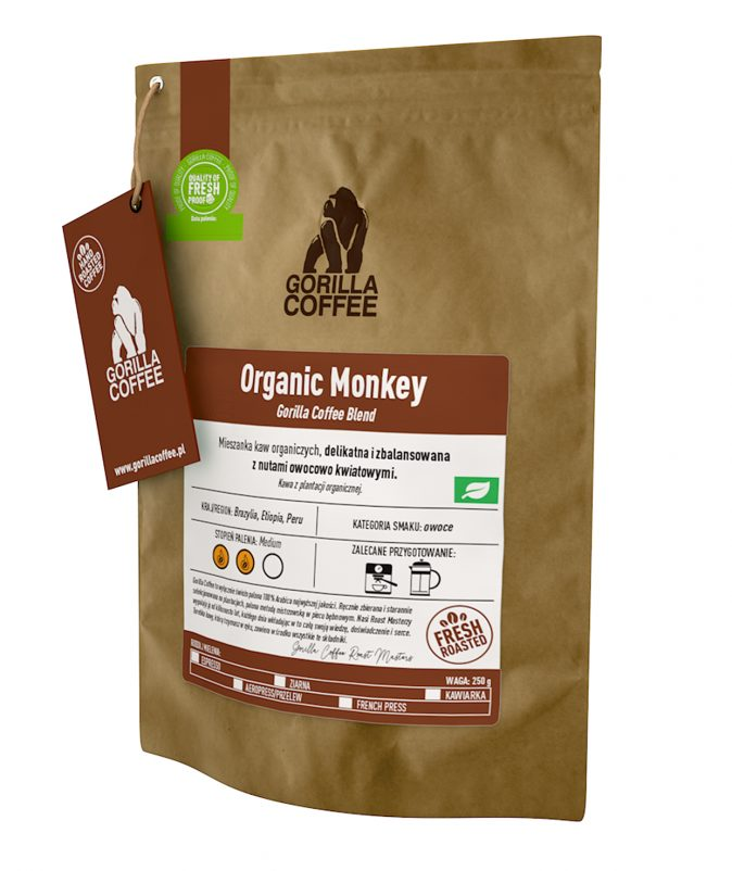 Organic Monkey Gorilla Coffee