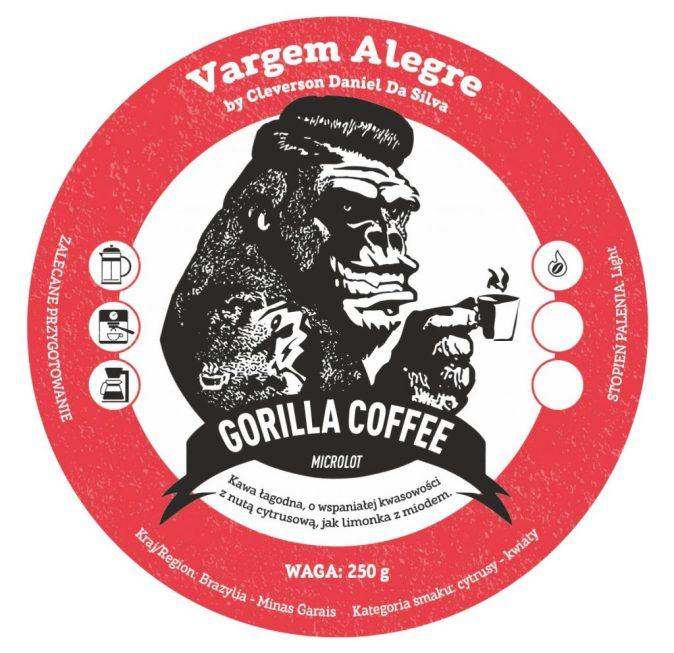 Brazil Vargem Alegre Gorilla Coffee