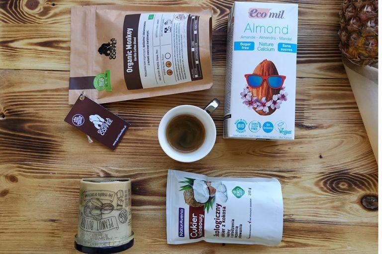 Odchudzająca kawa z olejem kokosowym i cynamonem