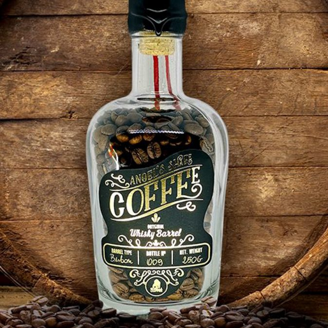Angels Share Burbon Barrel Coffee
