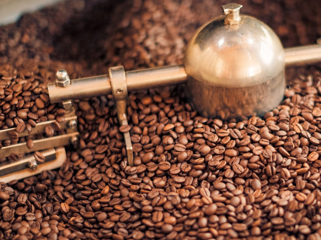 stopień wypalenia kawy
