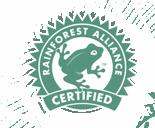 Gorilla Coffee Rainforest Alliance certification