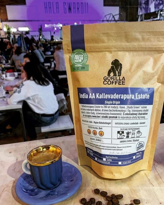 kawa single origin gorilla coffee