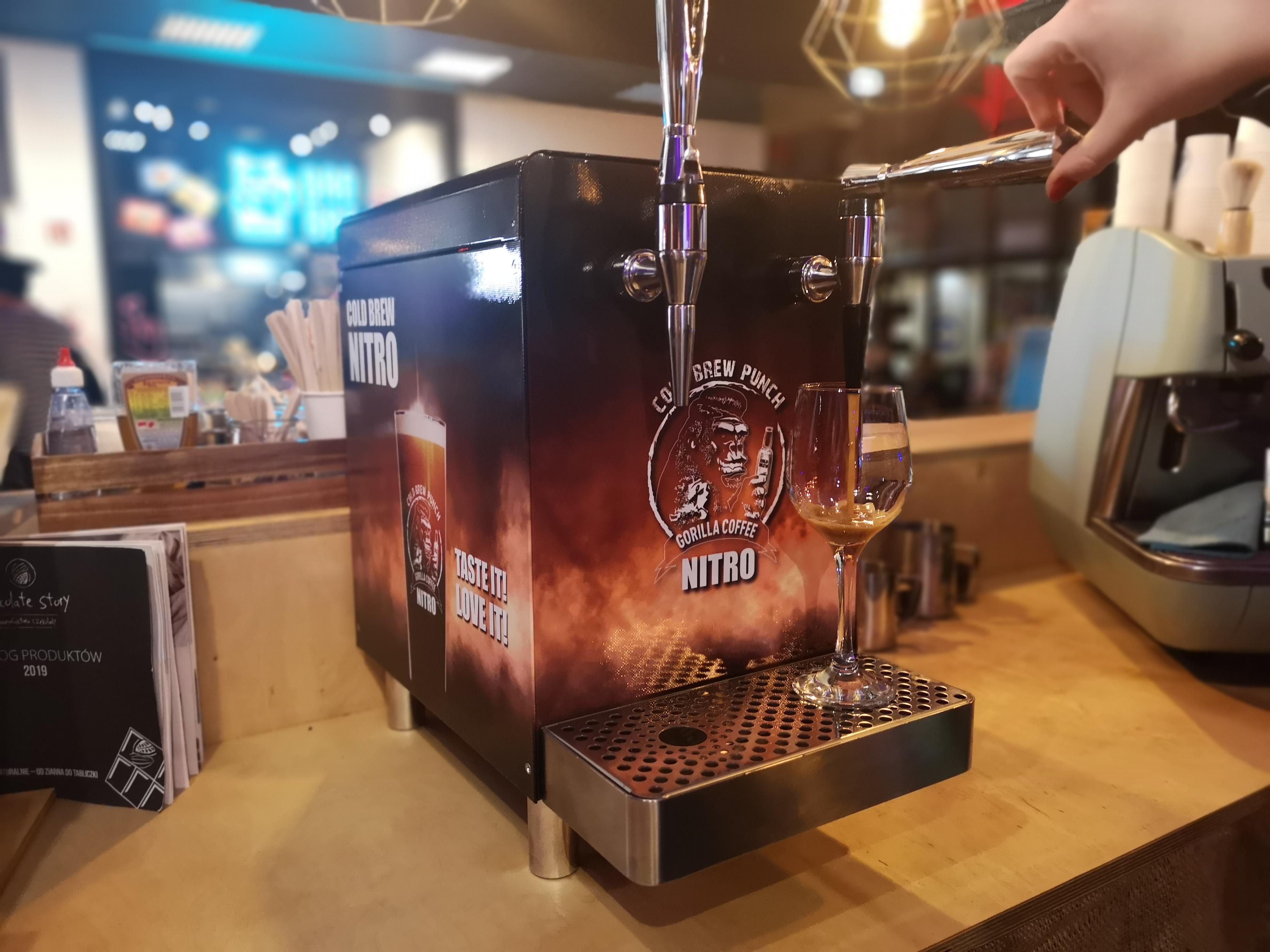 Nalewak do kawy nitro