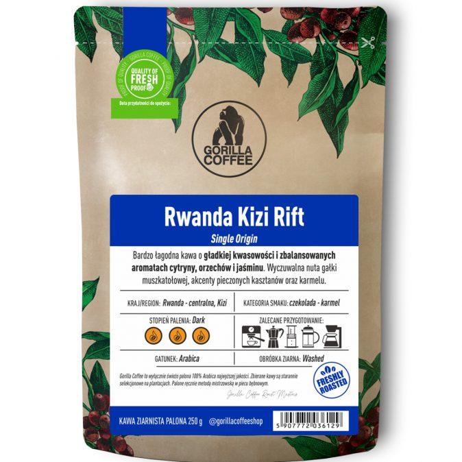 Kawa Rwanda Kizi Rift Gorilla Coffee