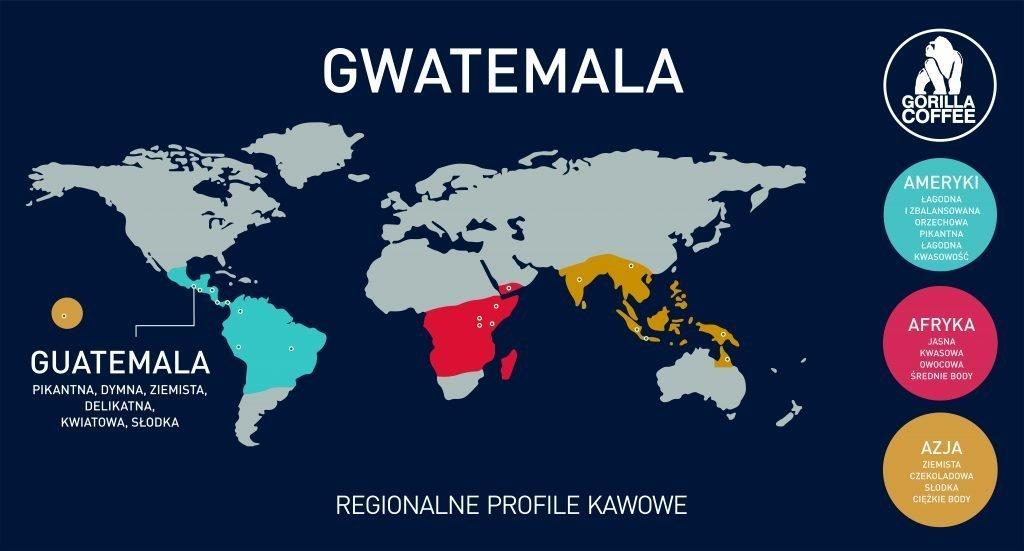 Kawa gwatemala gorilla cofee