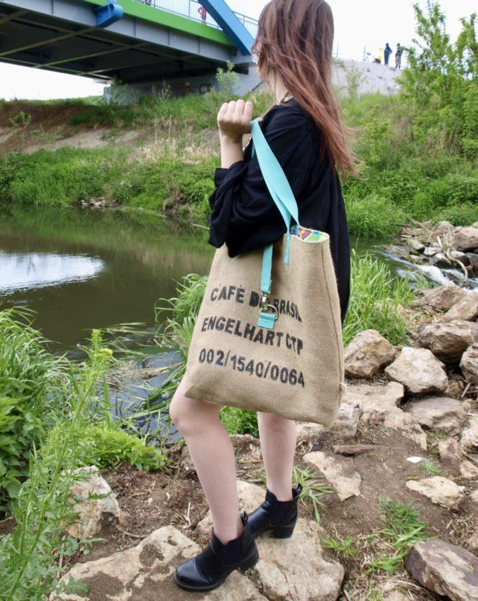 camara - torba z juty