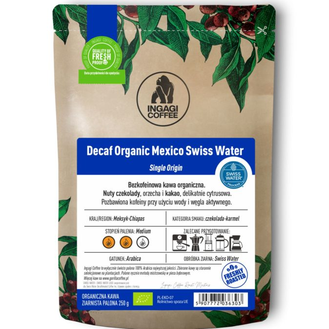 Decaf Organic Mexico Swiss Water