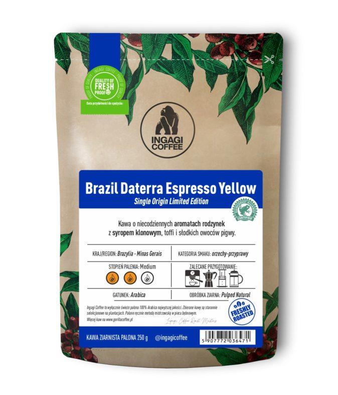 Kawa Brazil Daterra Espresso Yellow