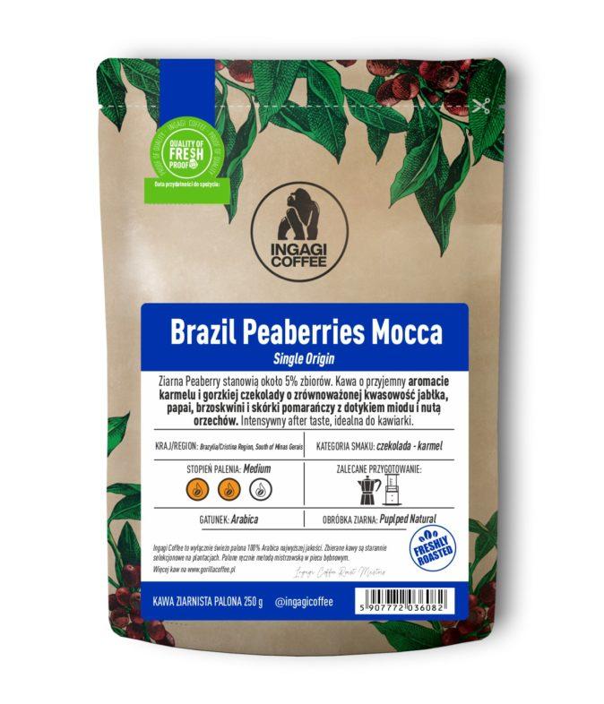 Kawa Brazil Peaberries Mocca