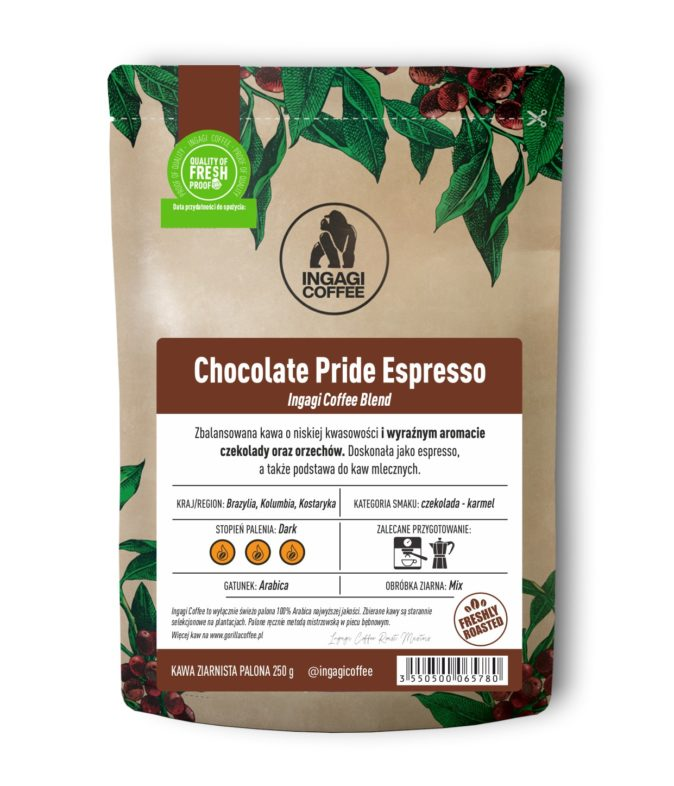 Kawa Chocolate priede Espresso