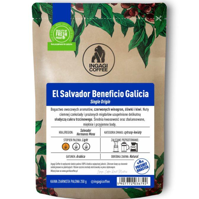 Kawa El Salvadore Beneficio Galicia