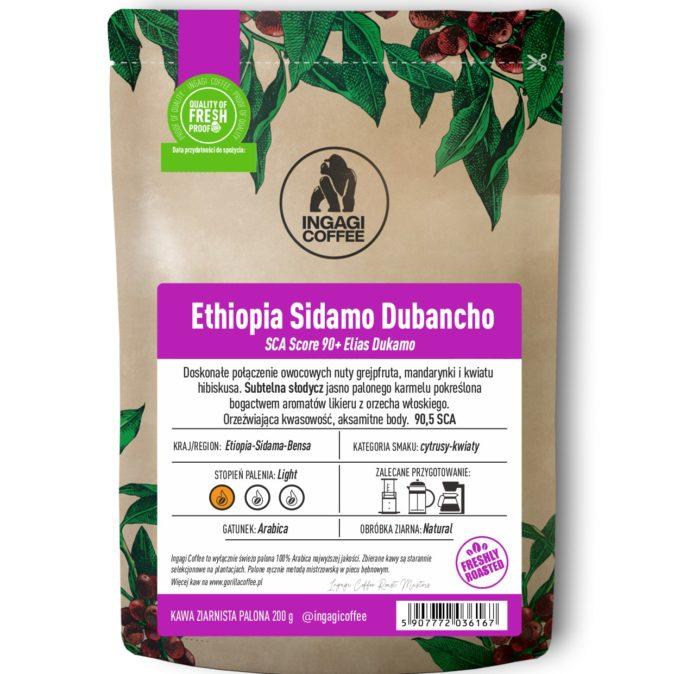 Kawa Ethiopia Sidamo Dubancho