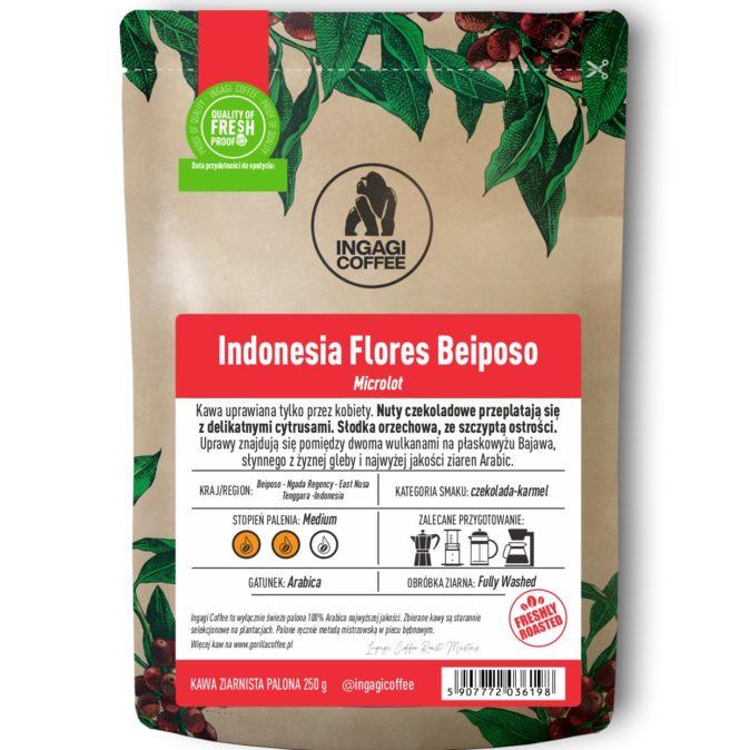 Kawa Indonezja Flores Beiposo