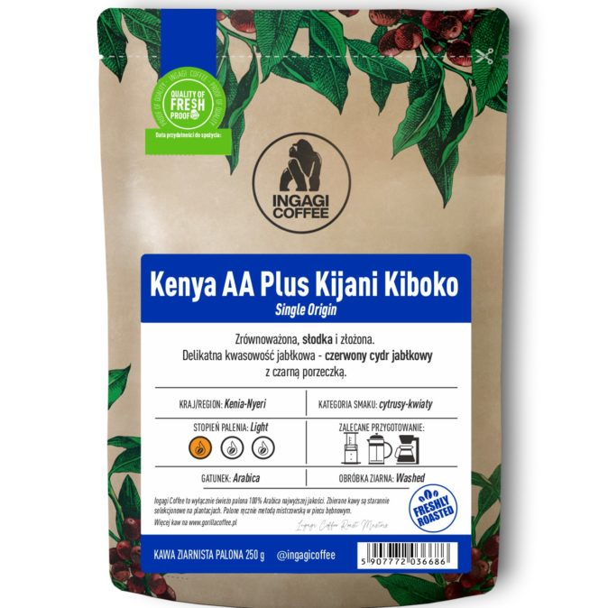 Kawa Kenya AA Plus Kijani Kiboko