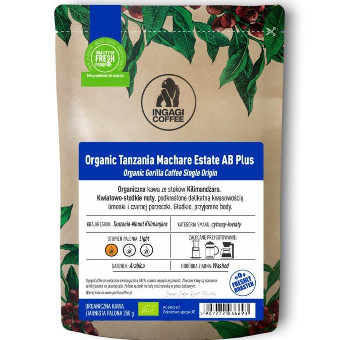 Organic Tanzania Machare Estate AB Plus