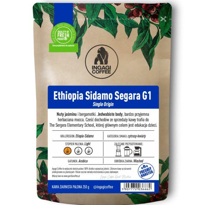 kawa Ethiopia Sidamo Grade 1 Segara
