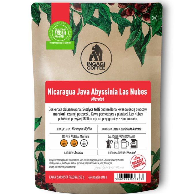 kawa Nicaragua Java Abyssinia Las Nubes