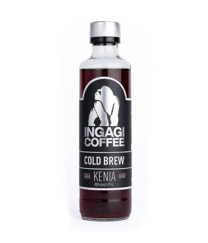 cold brew kenia ingagi coffee