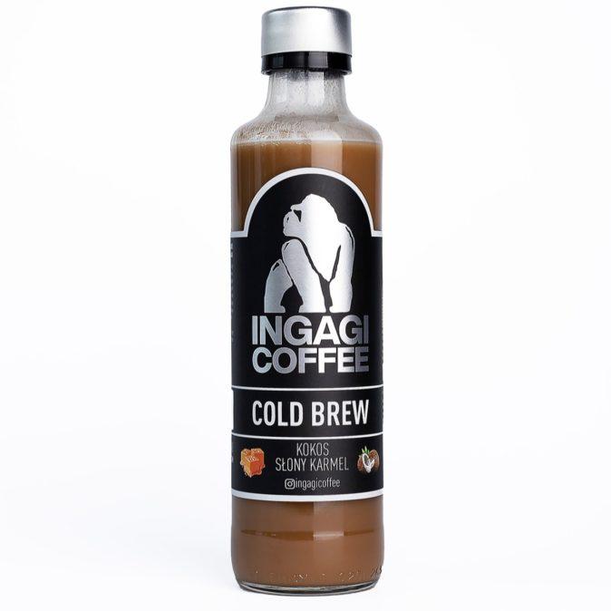 cold brew kokos słony karmel ingagi coffee